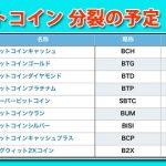 ビットコインアンリミテッド、ビットコインプラチナム(BTP)、ビットコインウラン(BUM)、スーパービットコイン(SBTC) 分裂は日本時間 何時?上場はいつ?特徴・価格予想!配布条件・付与条件!購入方法・買い方・取引所 コインチェックは?【ハードフォーク】