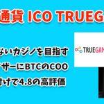 仮想通貨 ICO TRUEGAME(トゥルーゲーム・TGAMEトークン) 買い方・購入方法!特徴・使い道・将来性